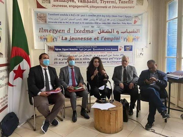 Conférence-de-presse-des-avocats-de-Rabah-Karèche-au-siège-de-RAJ-hier